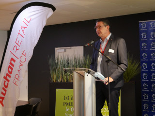 Olivier Barbry, directeur Hauts-de-France d'Auchan Retail. (Aletheia Press / MR)