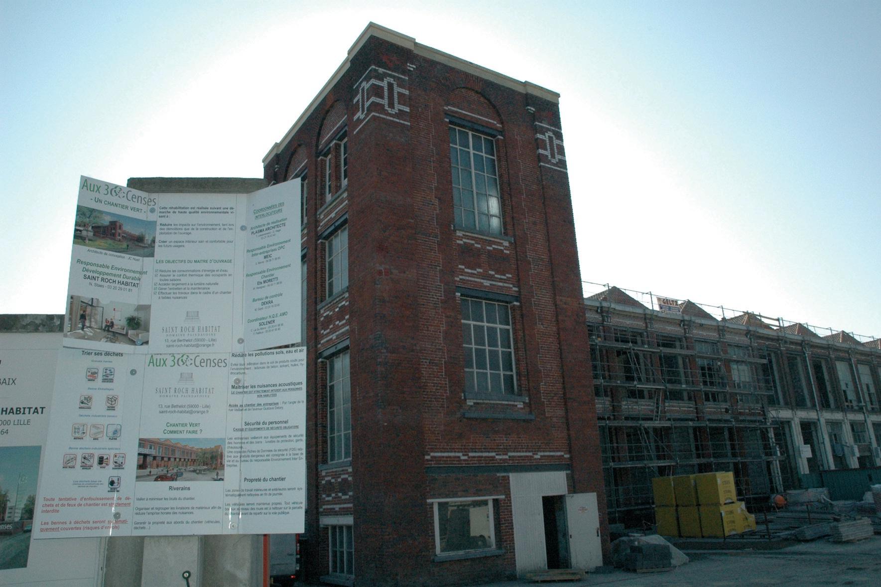 Un chantier HQE démarré en septembre dernier.