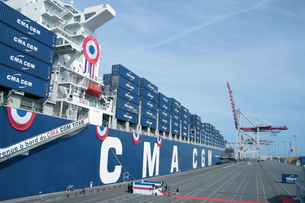 Le navire prend son service sur la French Asia Line.