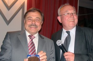 A gauche, Philippe Bellanger, à droite, Dominique Cornille.