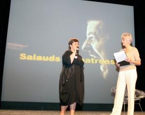 Nadiège Sudre (à gauche), présidente du CJD, et Annie Lemoine (à droite).
