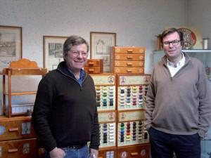 Olivier et Bruno Toulemonde sont la quatrième génération dans l'entreprise.