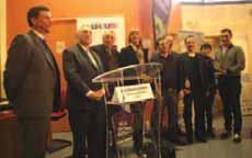 Les lauréats ont reçu leur récompense des mains de Valérie Létard, sénatrice et présidente de Valenciennes Métropole