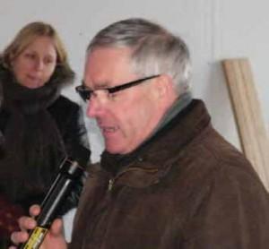Tous les édiles territoriaux se sont félicités de l'aboutissement de ce projet. Ici, André Figoureux, président de la communauté de communes de Bergues.