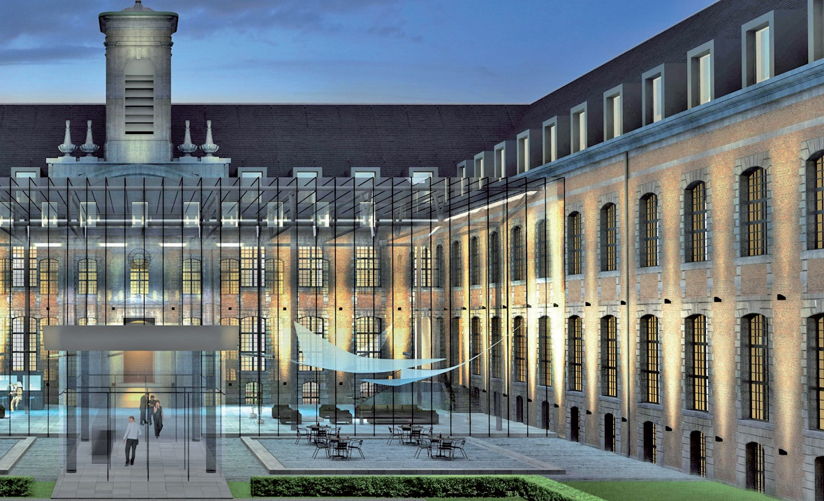 L'hôpital général sera transformé en hôtel multi-étoilé.