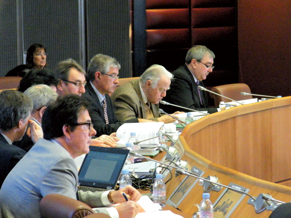 Plénière du Conseil général, les 20 et 21 février derniers à Arras.