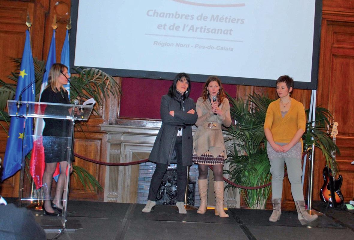 Christelle Obert, Karine Carton et Carole Bourgain ont raconté la création, à l'été 2011, de leur complexe de beauté et de bien-être à Wimereux.