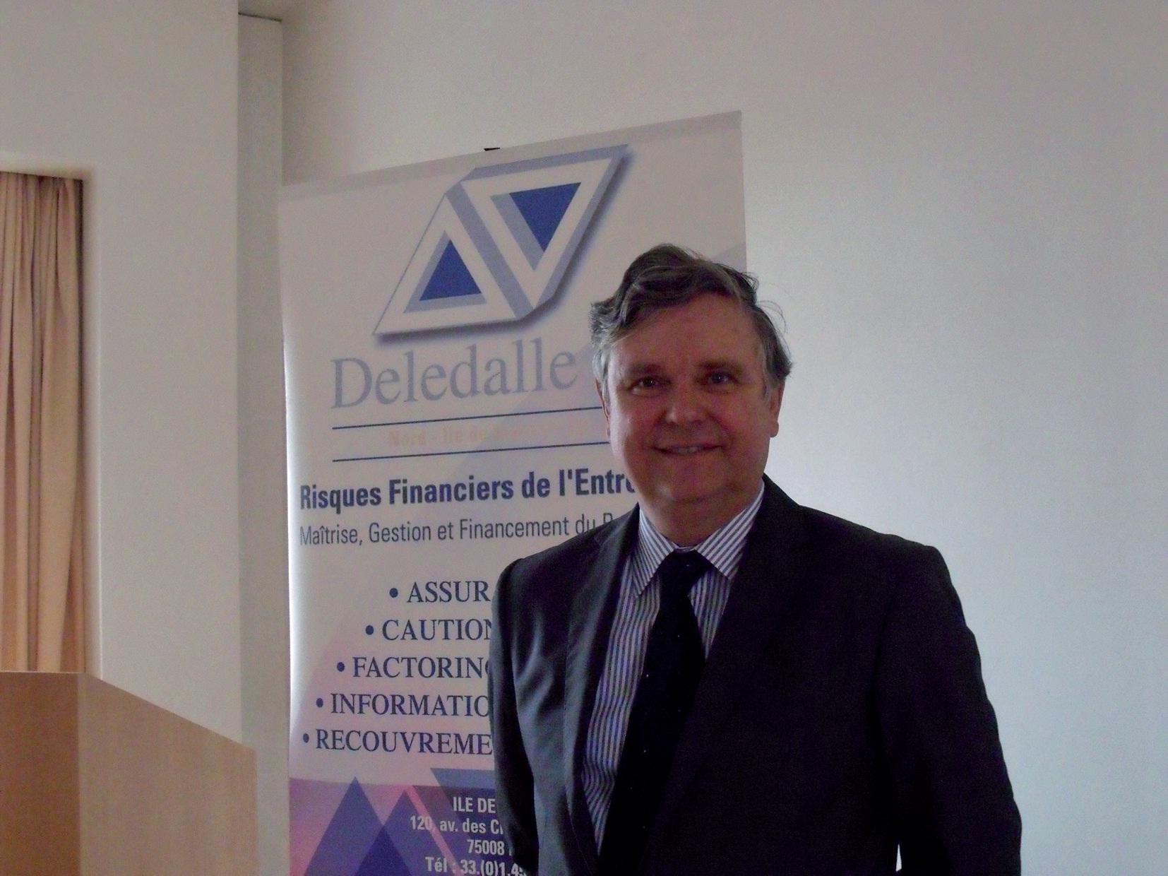 """""""Notre rôle, c'est de faciliter le lien entre l'entreprise et la compagnie d'assurances"""". Alain Deledalle."""