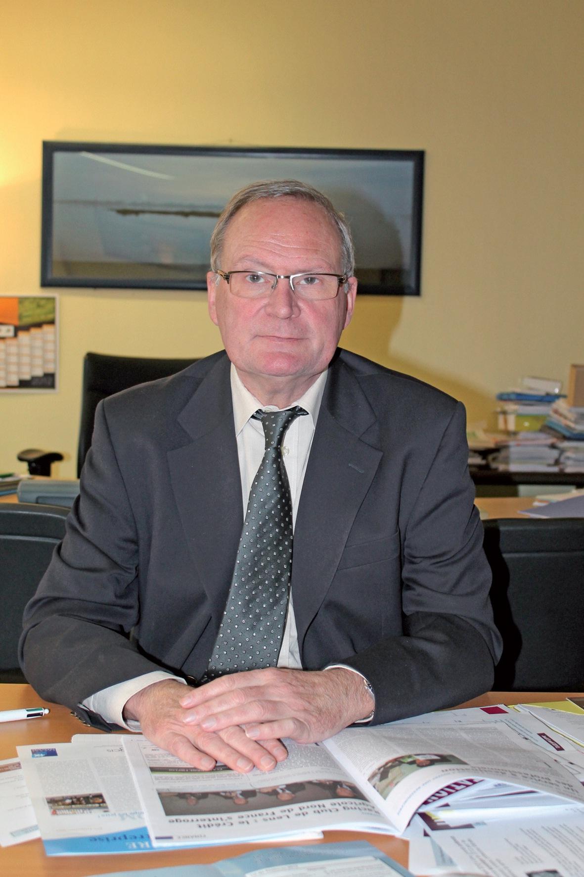 Yves Granier, directeur du Centre de gestion agréé des Hauts de France.