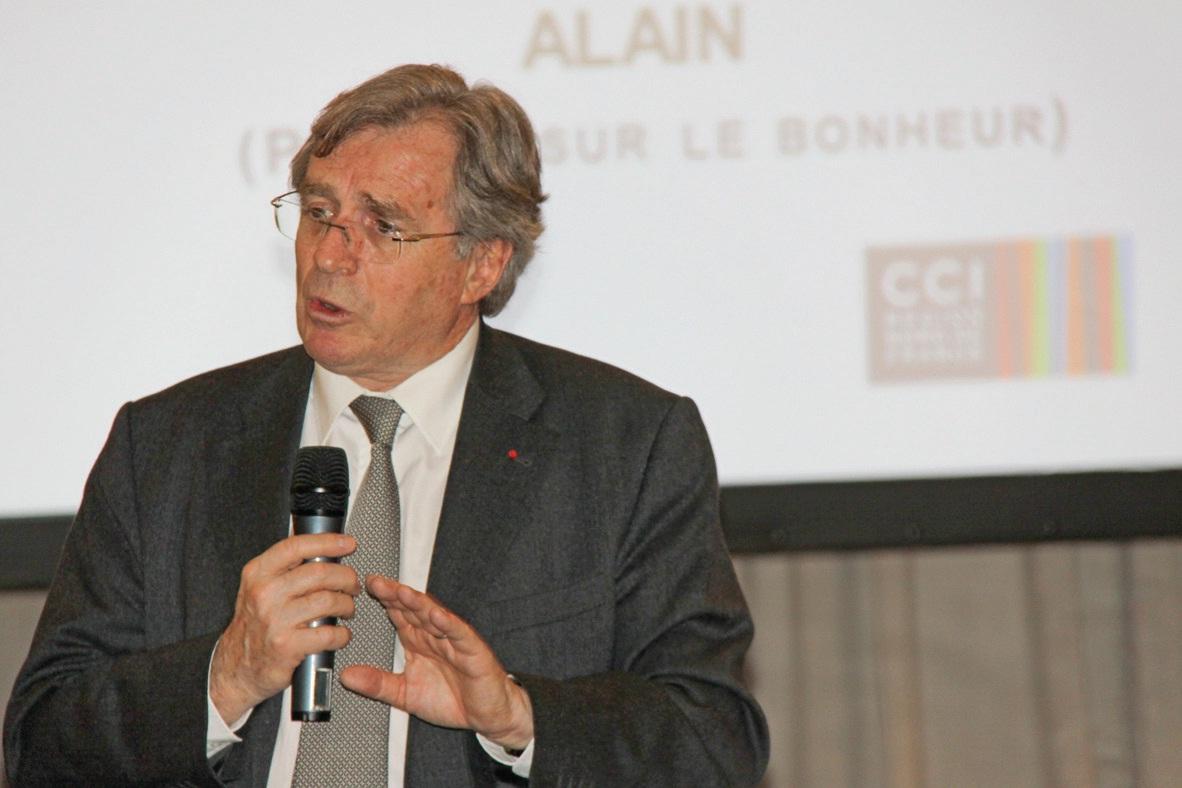 C'est avec passion, mais avec une certaine gravité, que Philippe Vasseur, président de la Chambre de commerce et d'industrie, a fait part à l'assemblée de ses convictions pour la région et de son optimisme sur sa capacité à se mobiliser pour l'avenir.