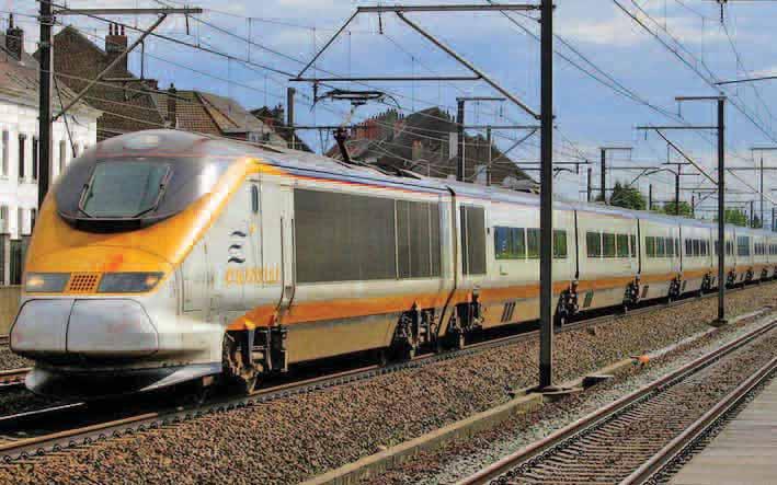 L'Eurostar, à l'origine du mécontentement des présidents des CCI.