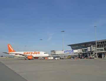 Premier atterrissage à Lille pour le vol easyJet en provenance de Toulouse, le 26 mars dernier.
