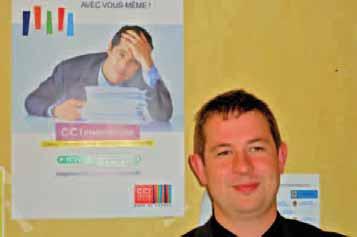 Fabien Flechard coordonne le processus de CCI prévention au sein de la CCI Grand-Lille.