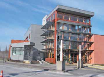 """Le bâtiment servira de vitrine au site dit """"d'écologie urbaine"""" de Maubeuge mais aussi de vitrine sur lui-même puisqu'il est aux normes HQE."""