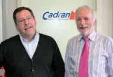 Francis Vigin, président de Cadran, et Thiéry Deleneuville, membre de l'association.