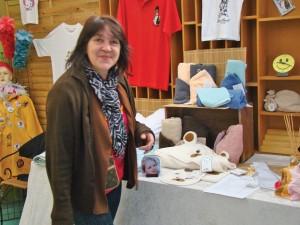 Fabienne Langlet s'est positionnée sur le marché du cadeau personnalisé.
