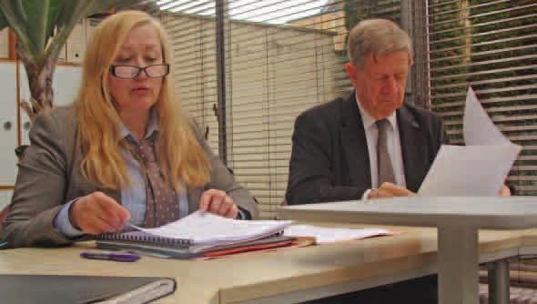Chantal Manguin-Dufraisse et Daniel Pecqueur.