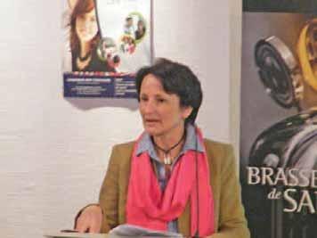 Guillemette Chapuis, directrice de l'Escip.