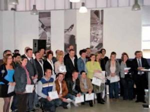 Une cinquantaine de créateurs-repreneurs mis à l'honneur le 2 avril dernier à Blériot-Sangatte.