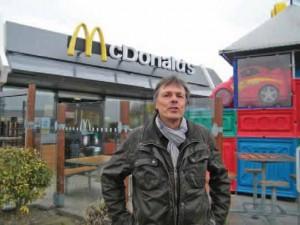 Amédée Jégo, directeur des enseignes McDonald's du Calaisis.
