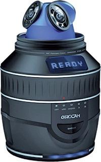 Girocam est un appareil photo 360° développé par Giroptic, avec l'accompagnement design de 3pod.