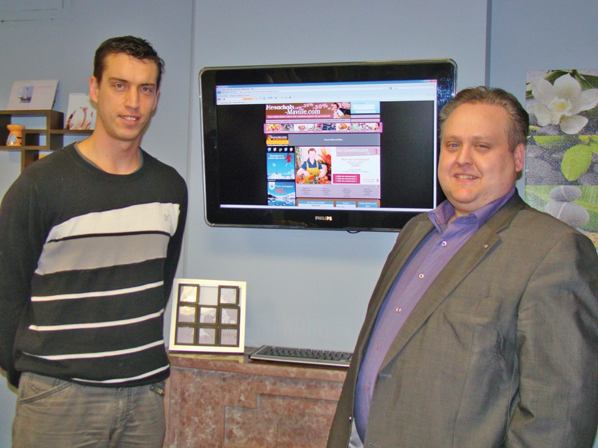 Cédric Debaecke et Michaël Merlen ont associé leurs savoir-faire et compétences pour lancer leur produit e-marketing.