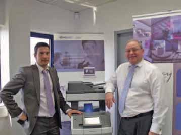 Denis Dubreucq, chef des ventes région Nord, et Philippe Berthelot, président de Debucy.