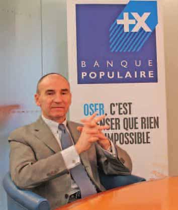 Gils Berrous, directeur général de la Banque populaire du Nord.