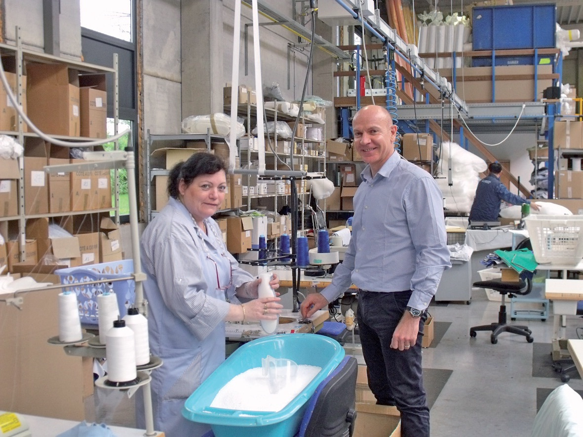 Yannick Yhuel, un dirigeant de PME qui mise sur la proximité avec ses salariés.