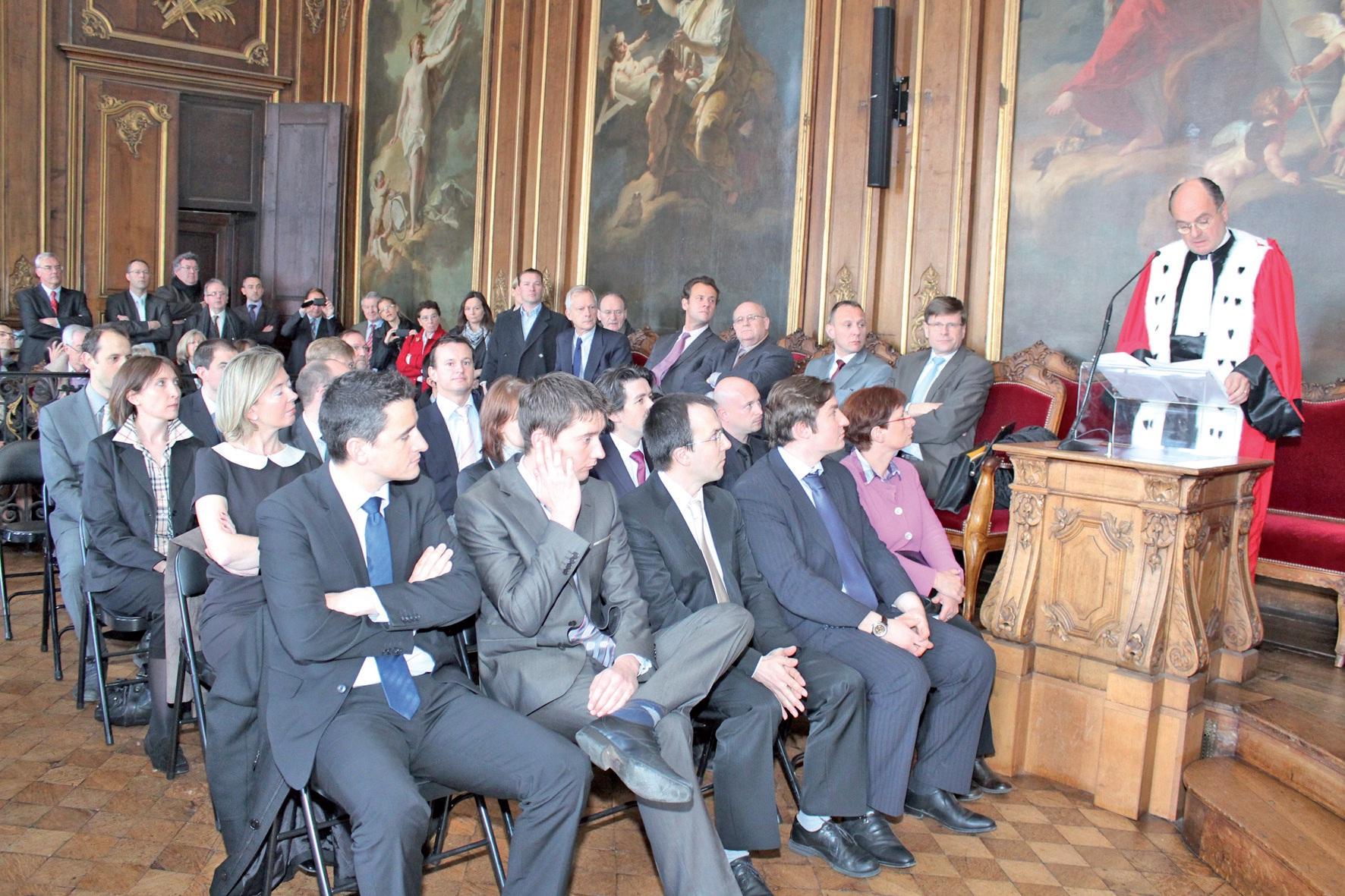 39 commissaires aux comptes ont prêté serment à Douai.