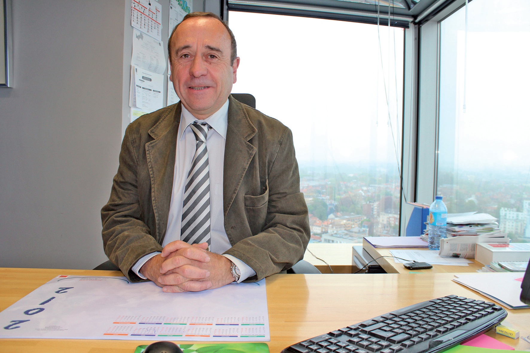 Dominique Mirada, directeur régional de la Caisse des dépôts, se félicite du lancement du fonds qui va aider l'industrie ferroviaire.