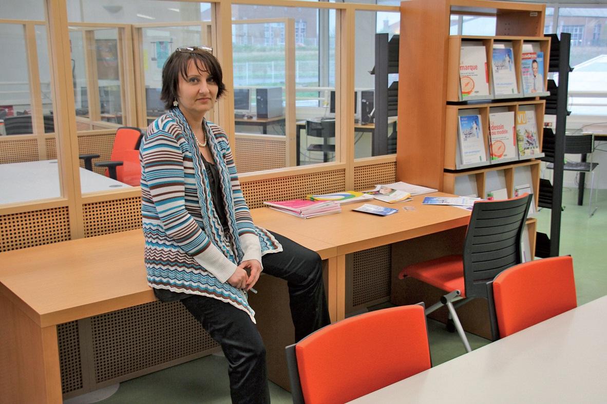 En tant que chef de projet, Nathalie Ratajczyck est chargée d'animer le Hubhouse et de suivre les porteurs d'initiative.