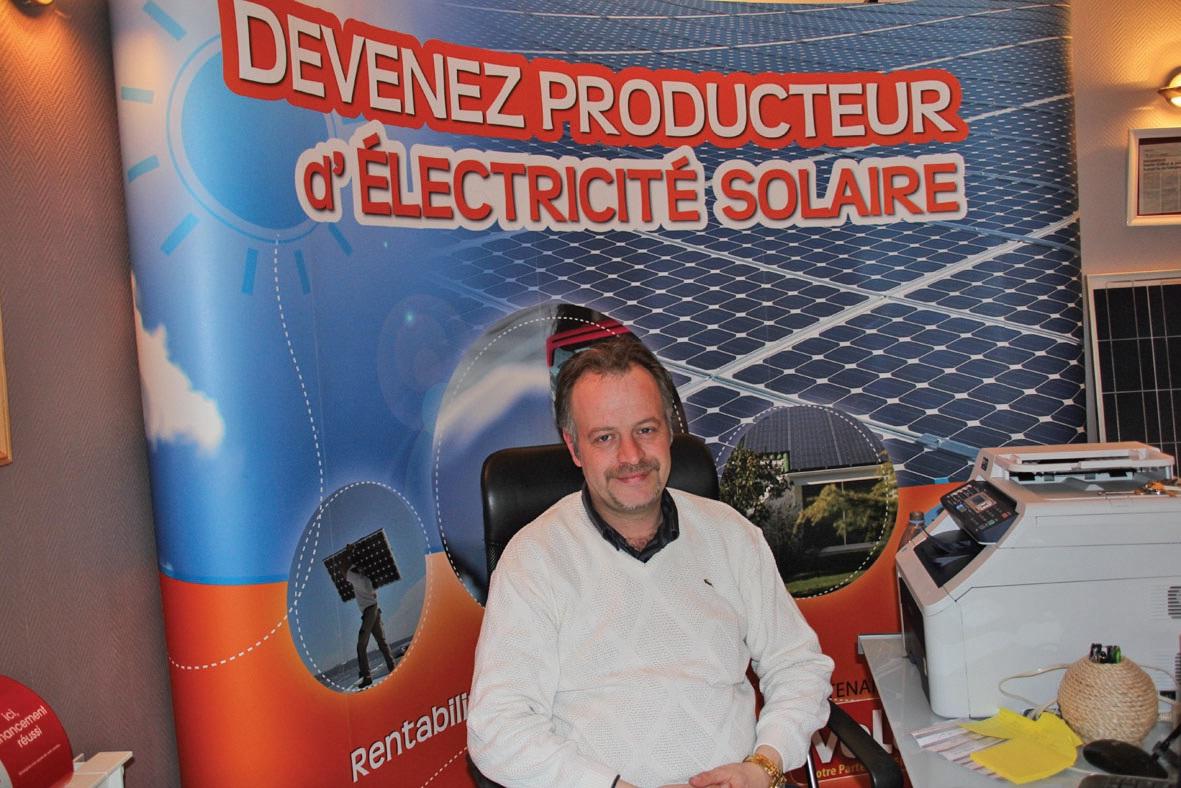 Yohann Crespel est un converti de la première heure aux énergies renouvelables et il se définit comme un amoureux du solaire.