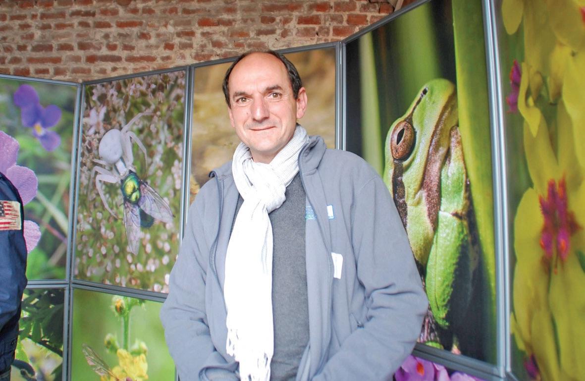 Succédant à Bruno de Foucault, Luc Barbier préside le Conservatoire des espaces naturels du Nord et du Pas-de-Calais depuis décembre 2011.