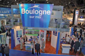 Si l'European Seafood Exposition est riche en stands multinationaux, nationaux ou régionaux, seul le port de Boulogne-sur-Mer est présent à la taille d'une ville. Grâce à la chambre régionale de commerce et d'industrie.