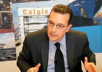 François Santoni, directeur général de LD Lines.
