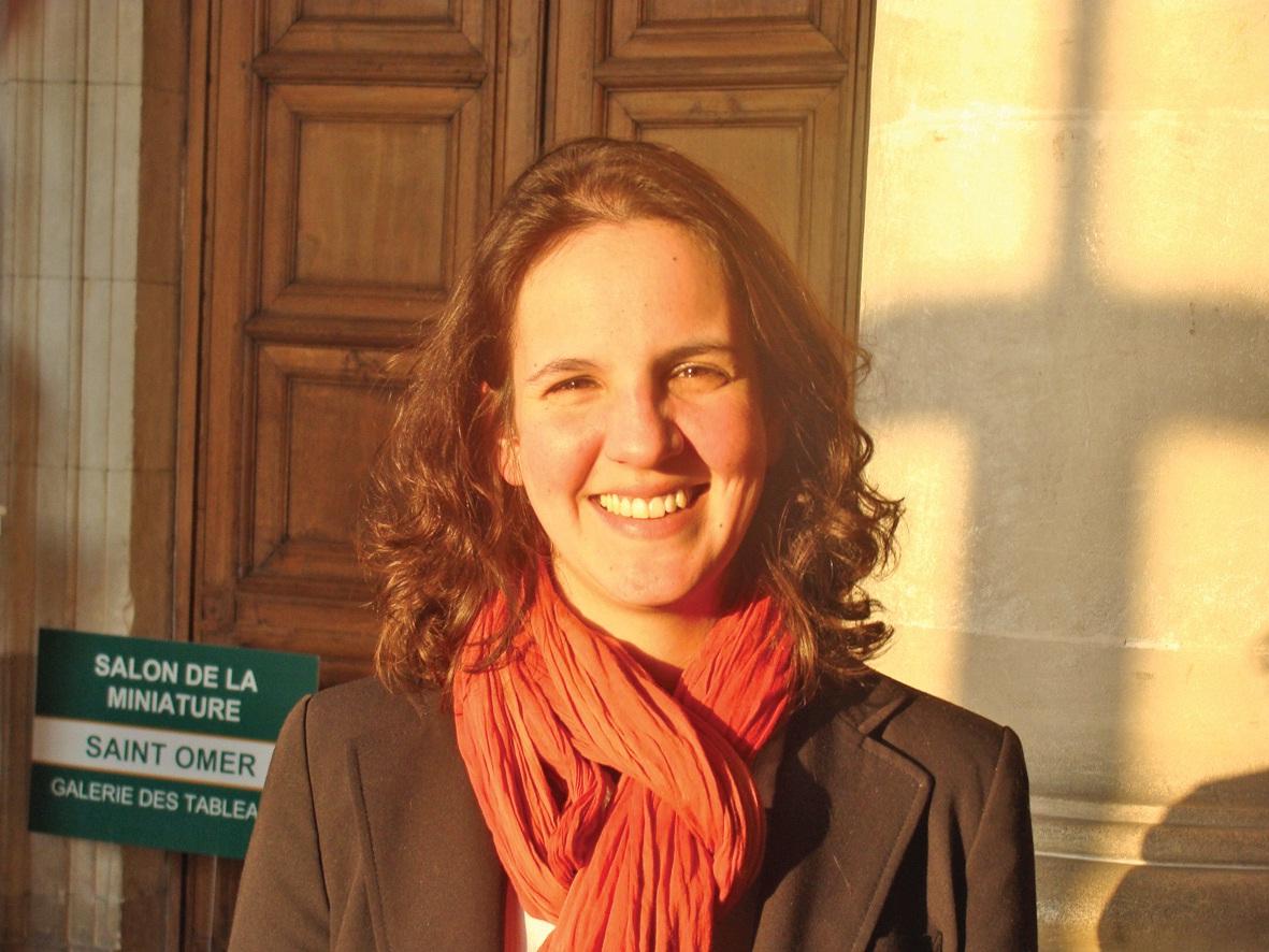 Houria Ezzahri, la nouvelle présidente de la JCE de Saint-Omer.