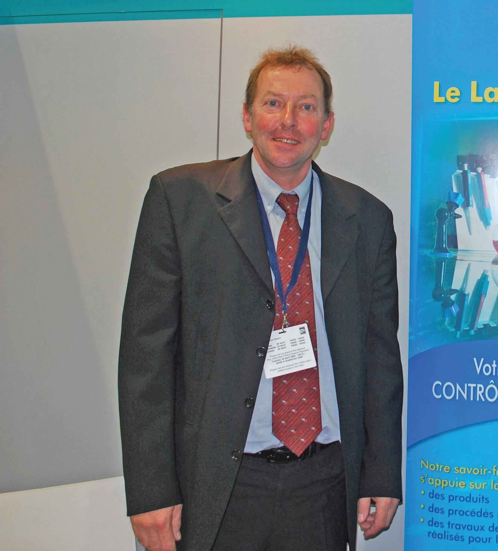 """L'ingénieur-conseil Xavier Joly vise """"la qualité totale des produits"""", vecteur de progrès au niveau social, économique et environnemental."""