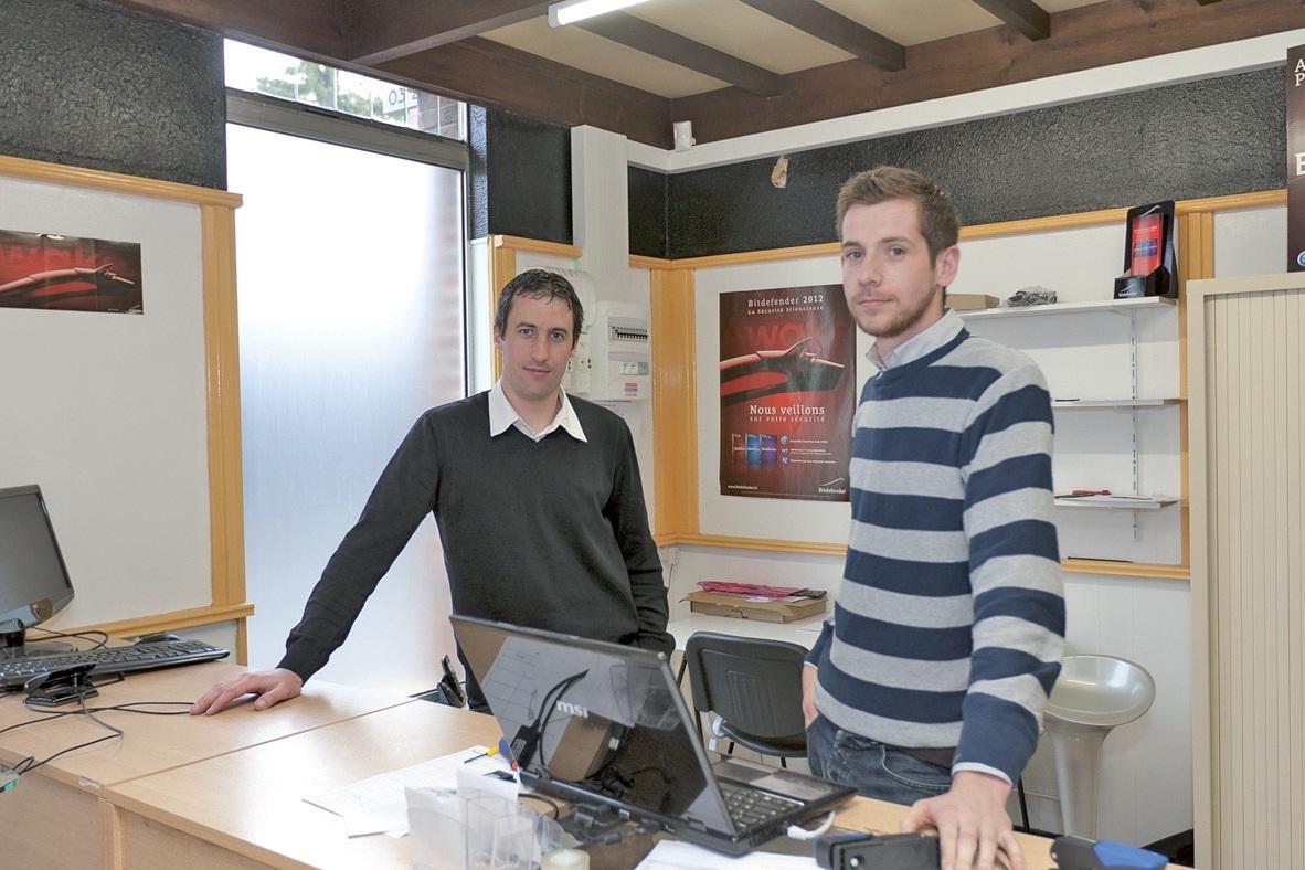 C'est à Souchez que l'entreprise a installé ses bureaux.