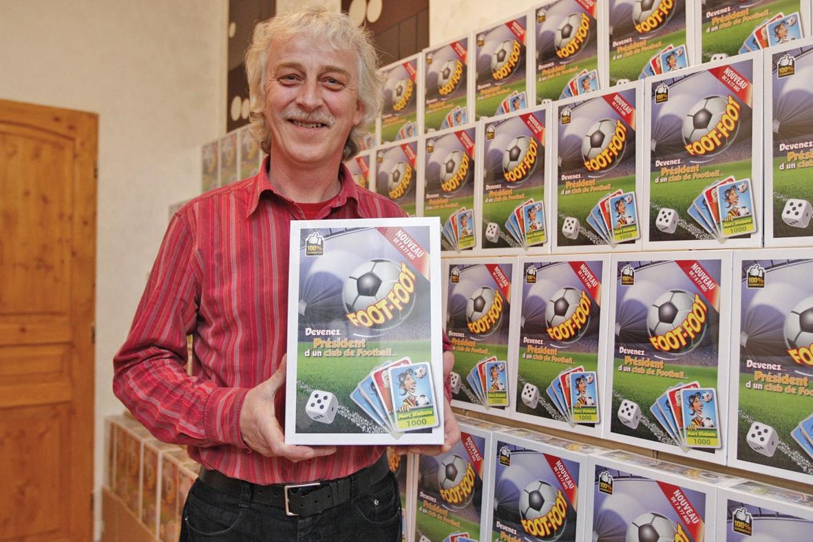 Vincent Jacquet a fait fabriquer 2 000 exemplaires de son jeu. Il espère pouvoir les écouler et en faire fabriquer d'autres.