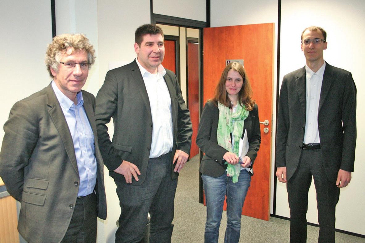 Jacques Pupponi (Intuitive Travel), Michaël Bodzioch et Hélène Vanderstichel (Netice), Florent Coquelin (Finger Impact).