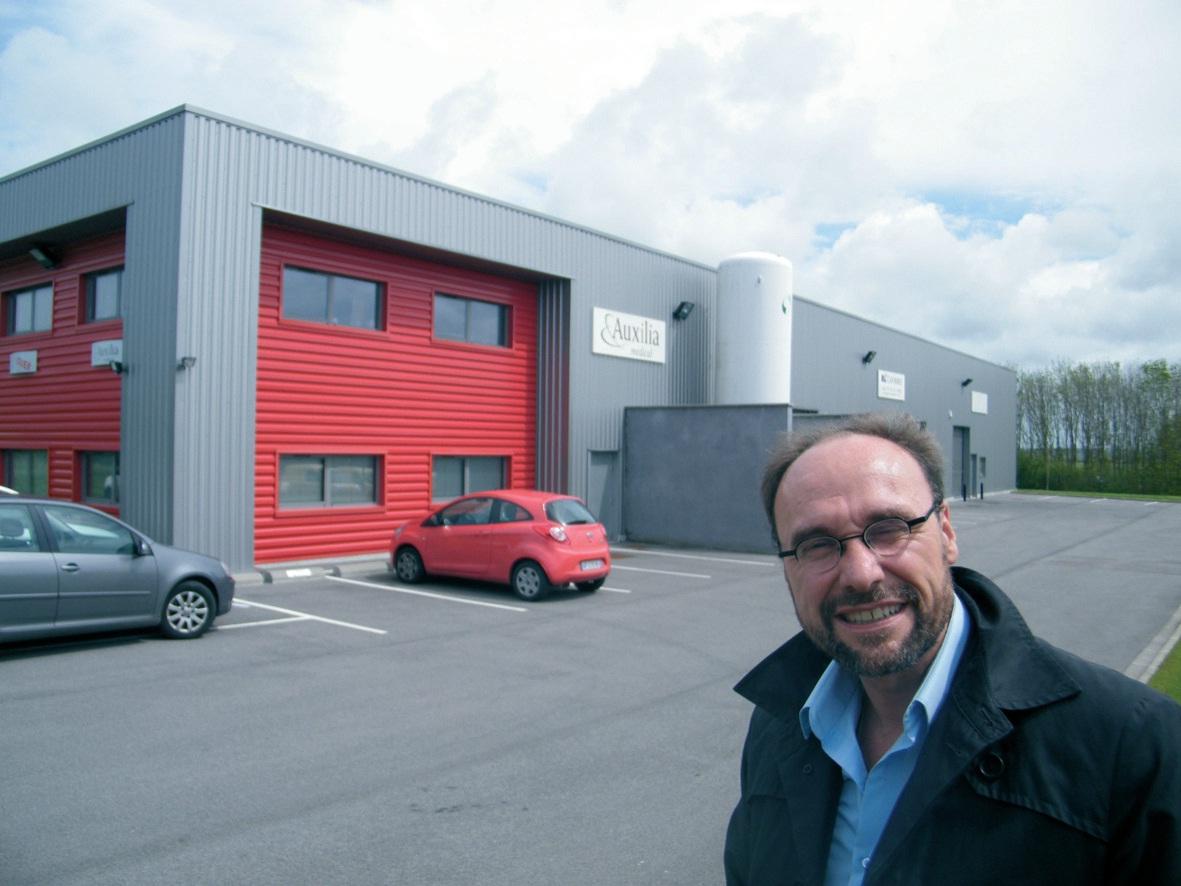 Christophe Delabaere, fondateur de l'entreprise éponyme.