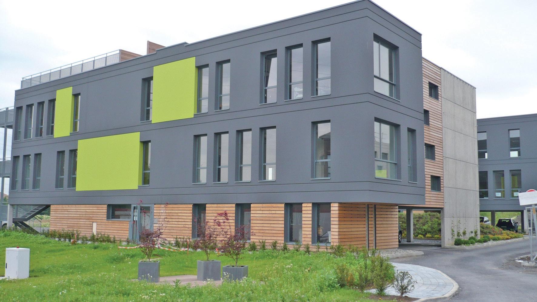Business park du Molinel, Tostain&Laffineur : l'un des bâtiments déjà existants.