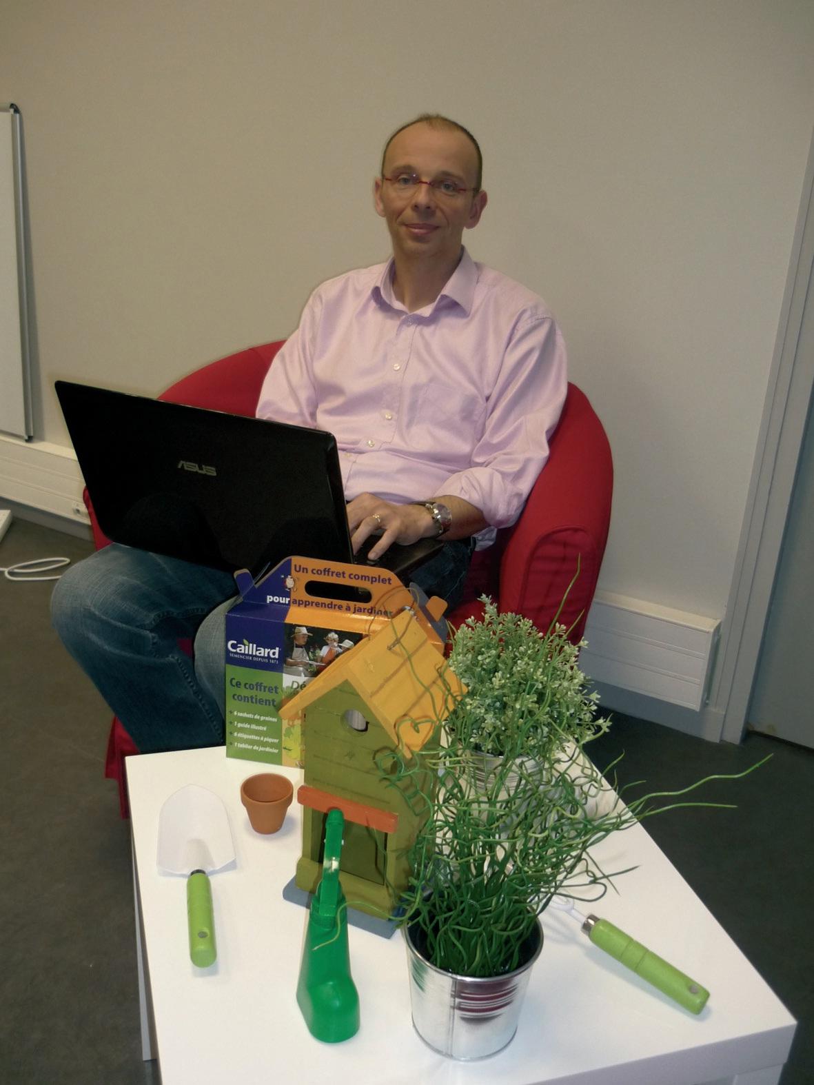 Hervé Florentin a compris les nouvelles attentes des jardiniers en herbe. Il leur offre les meilleurs produits sur son site où on se balade, de graines en bulbes.