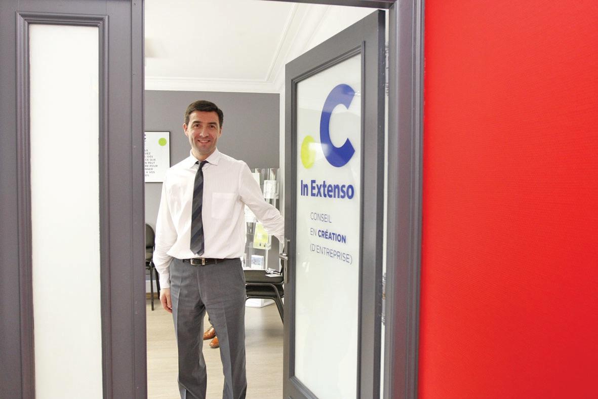 Olivier Poillion, conseiller en création d'entreprise pour l'agence de Saint-Pol-sur-Ternoise.