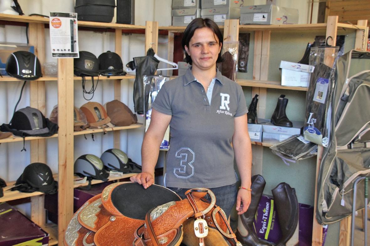 Julie Houseaux a mené une étude de marché sérieuse avant d'envisager l'ouverture de la Sellerie d'Ilha.