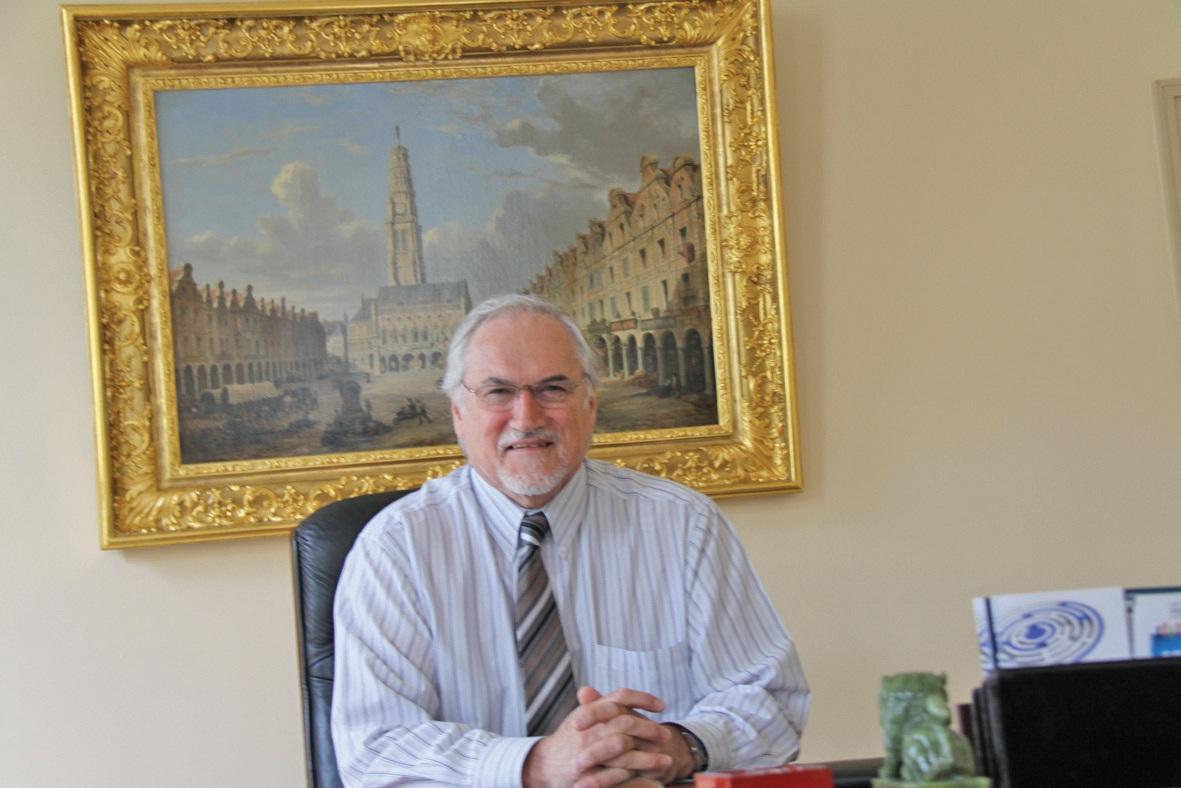La mise en réseaux des entreprises est une volonté politique d'Edouard Magnaval, président de la CCI Artois.
