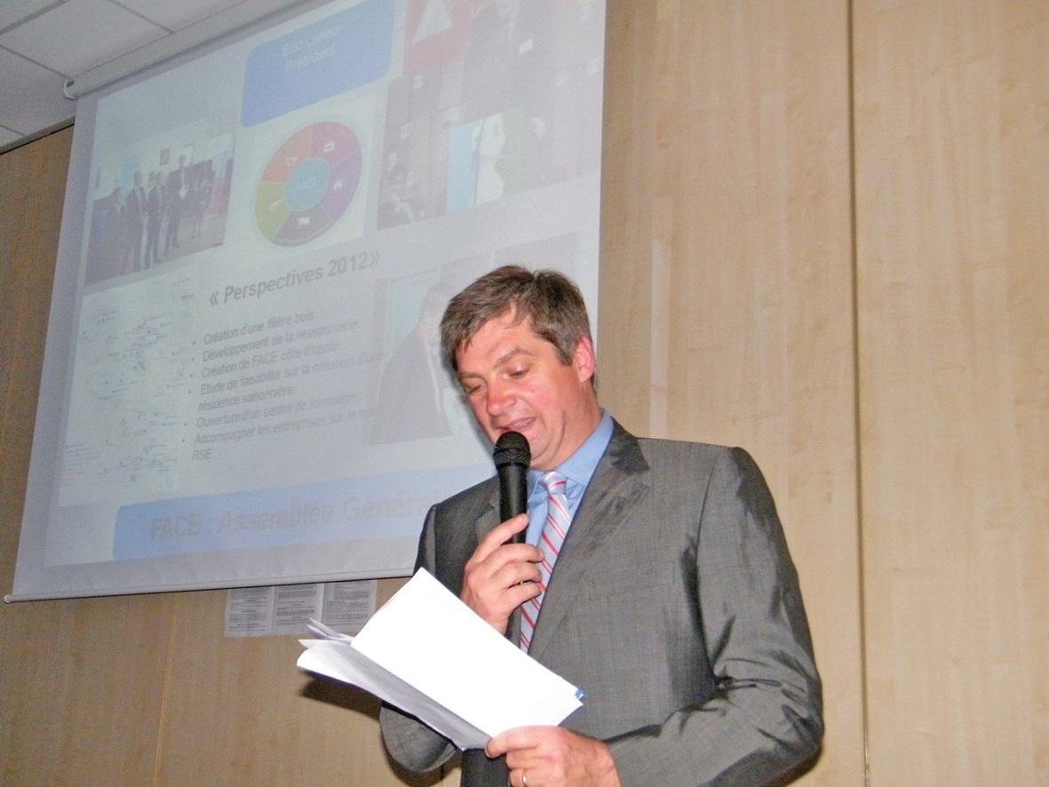 Eric Lelieur, président de Face Calaisis.
