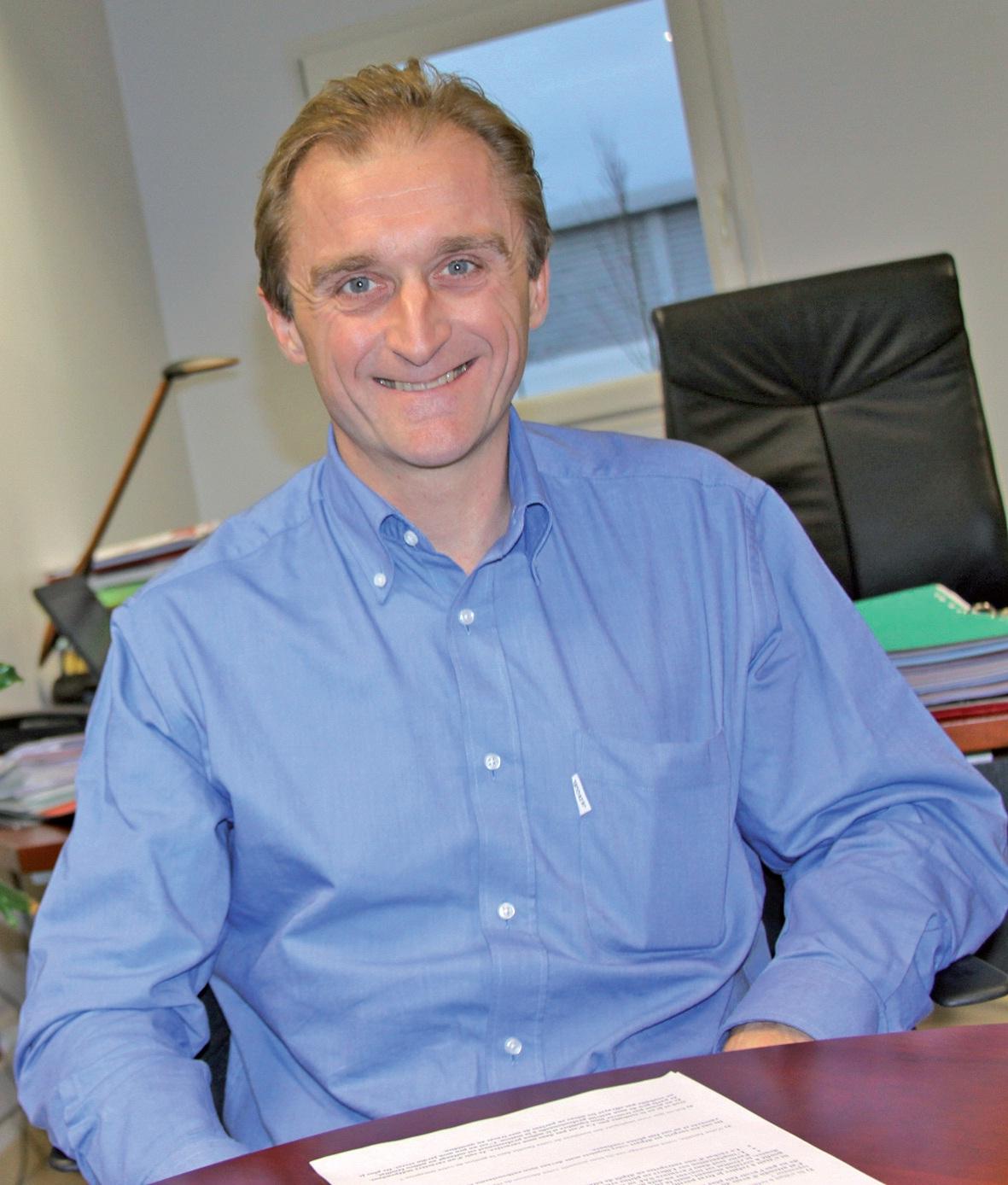 Christophe Waubant est président du groupe club E6 Artois (baptisé Tatoo).