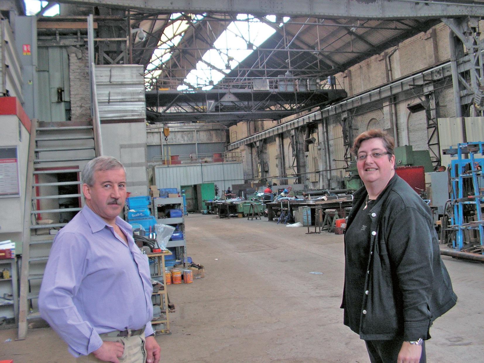 Les deux ex-salariés devenus dirigeants en 2005 : Sandrine Aubois, directrice générale, et Jean-Jacques Guyot, directeur. MCH occupe le site d'une ancienne brasserie, non loin de la Sambre.